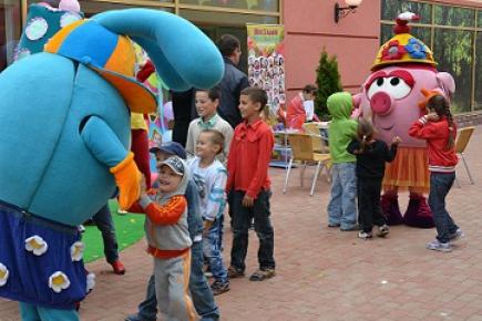 В Москве открылся детский центр «Клуб друзей «СМЕШАРИКИ»