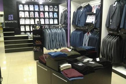 Открытие фирменного магазина мужской деловой одежды BENAFFETTO в г. Тюмень