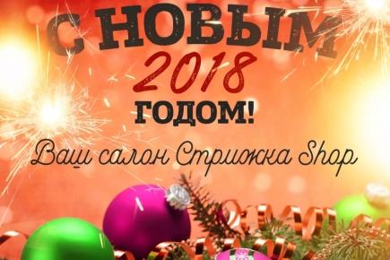 С наступающим Новым 2018 годом
