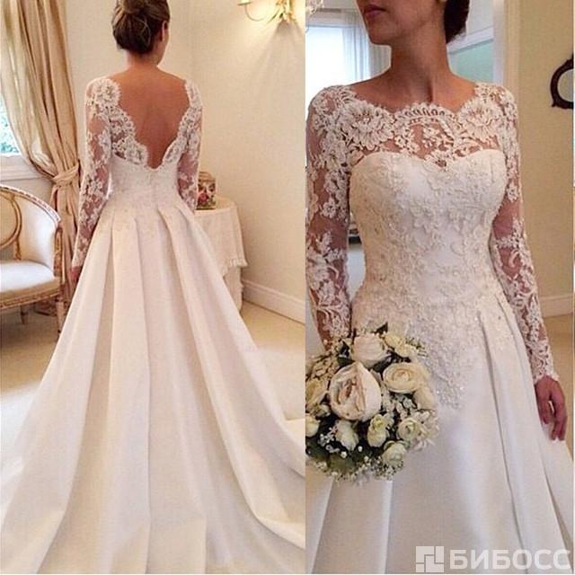 Кружево для свадебных платьев