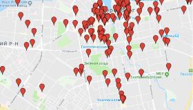 Карта покрытия сети