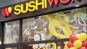 Суши Wok открыл еще один магазин в Европе