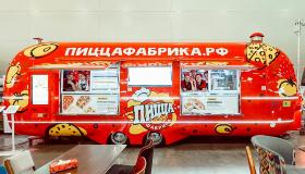 Фудтрак «ПиццаФабрики» на Pir Expo – 2019