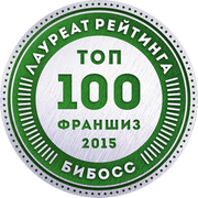 Автодевайс  в рейтинге франшиз ТОП-100 2015 от БиБосс.ру