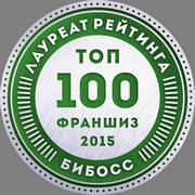 Четыре глаза в рейтинге франшиз ТОП-100 2015 от БиБосс.ру