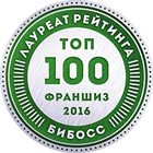 Доброта.ру в рейтинге франшиз ТОП-100 2016 от БИБОСС
