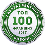 Сема  в рейтинге франшиз ТОП-100 2017 от БИБОСС