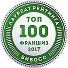 Додо Пицца  в рейтинге франшиз ТОП-100 2017 от БИБОСС