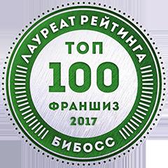 Четыре глаза в рейтинге франшиз ТОП-100 2017 от БИБОСС
